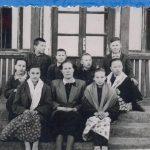Группа учащихся. 1958 г.