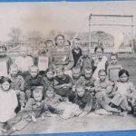 Учащиеся 1 класса. 1957 год. Учительница Орлова Р. П.