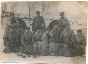 Гвардейцы 120 батареи 3 взвода