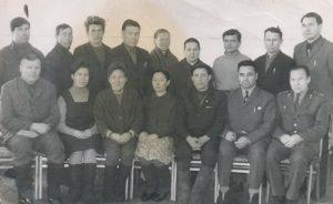 Группа депутатов. Январь 1973 год. Васькино-Туйрала и Потапово-Тумбарла.